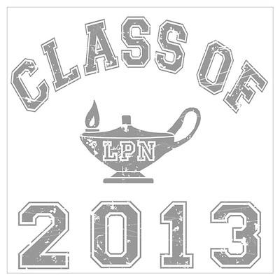 Class Of 2013 LPN Wall Art Poster