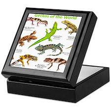 Geckos of the World Keepsake Box