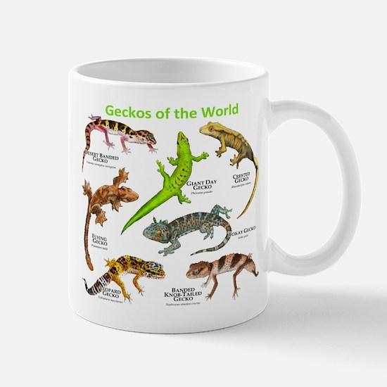 Geckos of the World Mug