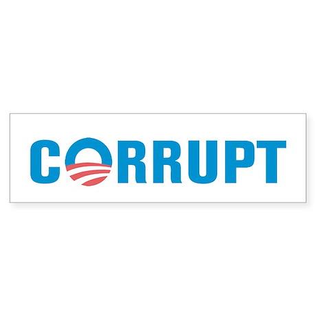 Corrupt Sticker (Bumper)