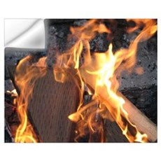 Campfire Flames Wall Art Wall Decal