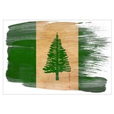 Norfolk Island Flag Wall Art Canvas Art
