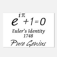 Euler - Pure Genius Postcards (Package of 8)