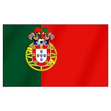 Portugal Barcelos Futbol Flag Wall Art Poster