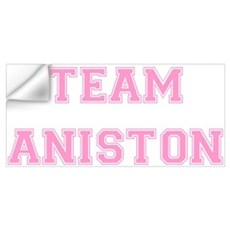 Team Aniston Pink Wall Art Wall Decal