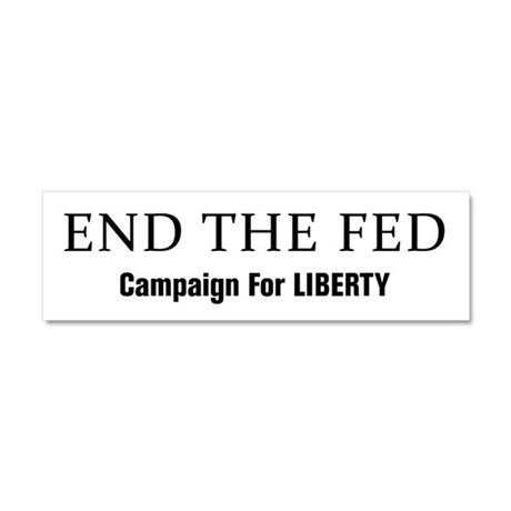 End The Fed Car Magnet 10 x 3