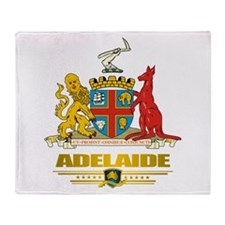 """Adelaide COA"" Throw Blanket"