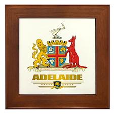 """""""Adelaide COA"""" Framed Tile"""