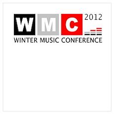WMC 2012 Winter Music Confere Wall Art Poster
