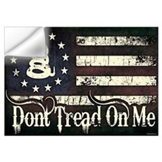 DTOM - Snake Flag Wall Art Wall Decal