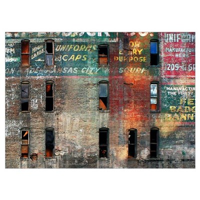 Neglected Beauty - KC Wall Art Poster