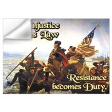 When Injustice Becomes Law Wall Art Wall Decal