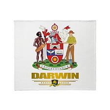 Darwin COA Throw Blanket