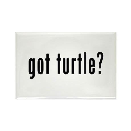 GOT TURTLE Rectangle Magnet