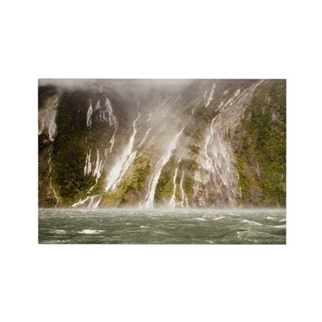 Milford Sound Rectangle Magnet (100 pack)