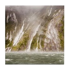 Milford Sound Tile Coaster
