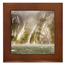 Milford Sound Framed Tile