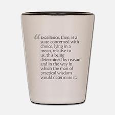 Aristotle Excellence Shot Glass