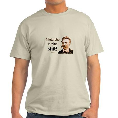 """""""Nietzsche Is The Shit!"""" Light T-Shirt"""