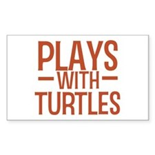PLAYS Turtles Decal
