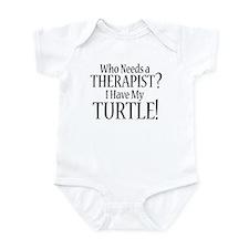 THERAPIST Turtle Infant Bodysuit