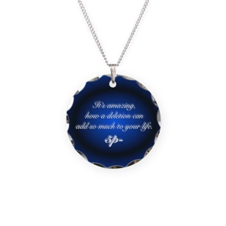 B&B Quote Necklace Charm