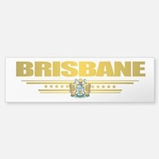 """Brisbane COA"" Car Car Sticker"