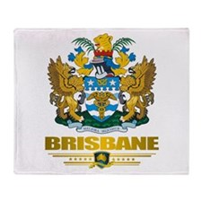 """Brisbane COA"" Throw Blanket"