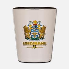 """""""Brisbane COA"""" Shot Glass"""