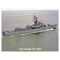 USS GLOVER Wall Art Poster