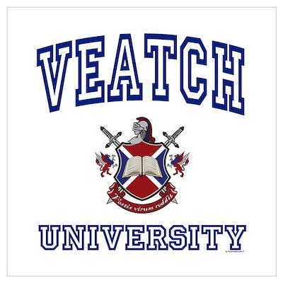 VEATCH University Wall Art Poster