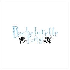 Bachelorette Party - Retro A- Wall Art Poster