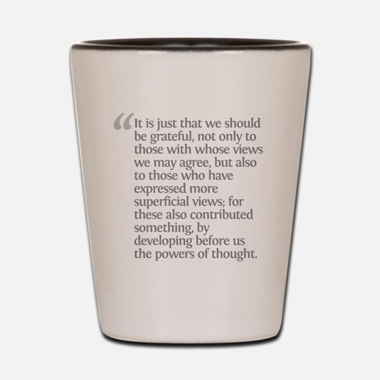 Aristotle It is just Shot Glass