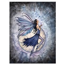 Blue Fairy Wall Art Poster