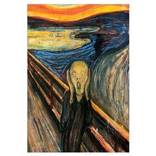 The Scream Wall Art