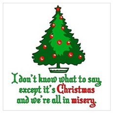 Christmas Vacation Misery Wall Art Poster