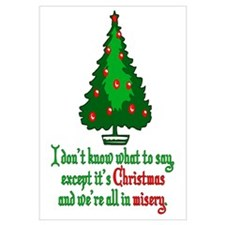 Christmas Vacation Misery Wall Art