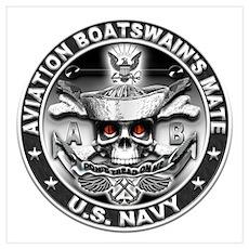 USN Aviation Boatswain's Mate Wall Art Poster