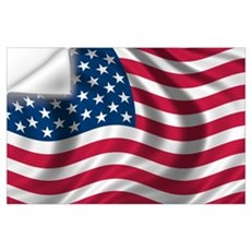 American Flag Wall Art Wall Decal