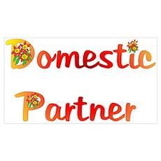 Domestic Partner Wall Art Poster