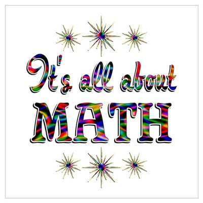 About Math Wall Art Canvas Art