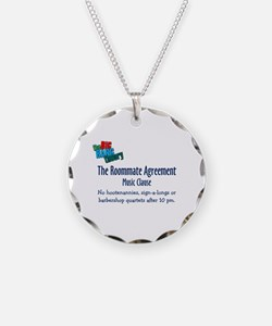 Roommate Agreement Music Necklace