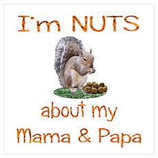 Mama & Papa Wall Art Poster