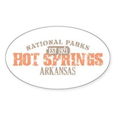 Hot Springs National Park AK Decal