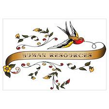 Human Resources Scroll Wall Art
