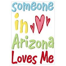 Someone in Arizona Loves Me Wall Art