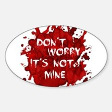 Not My Blood Decal