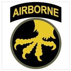 Airborne Wall Art Poster