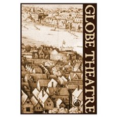 The Globe Theatre Wall Art Framed Print