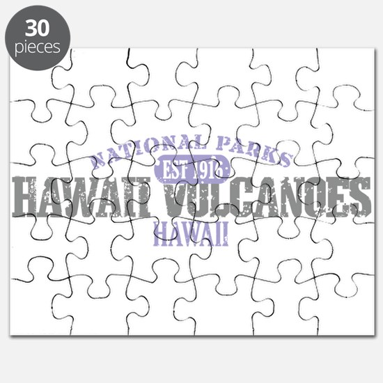Hawaii Volcanoes Nat Park Puzzle